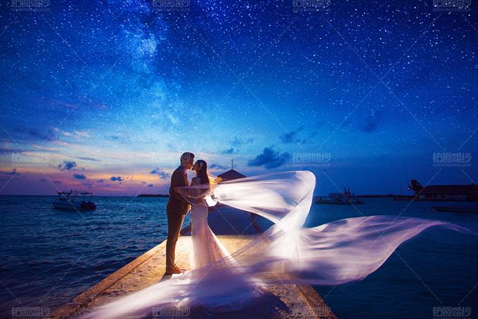 马尔代夫08月客照之浪漫一吻