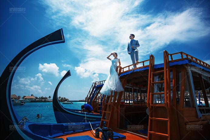 马尔代夫05月客照之直视远方