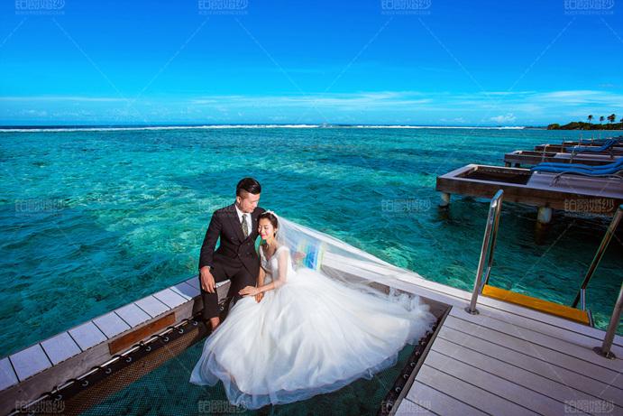 马尔代夫08月客照之幸福依偎