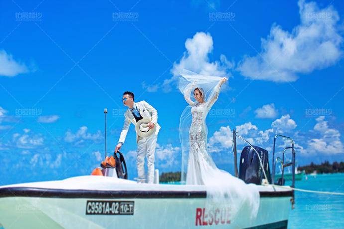 马尔代夫05月客照之乘船出海