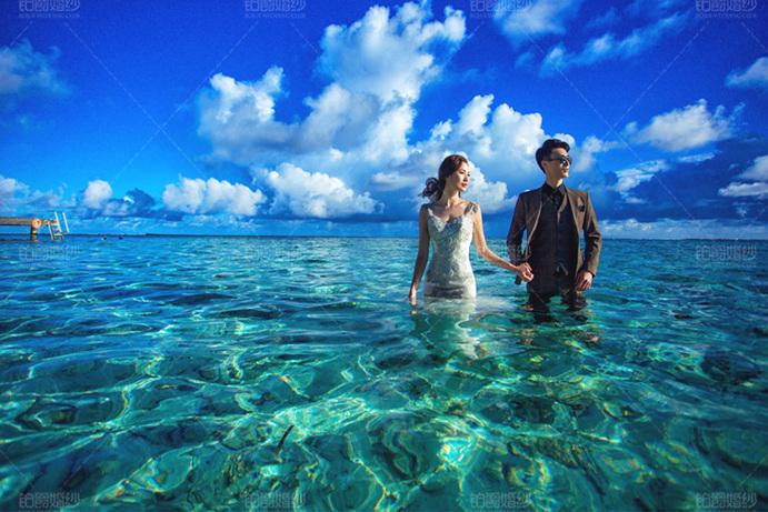 马尔代夫07月客照之置身水中