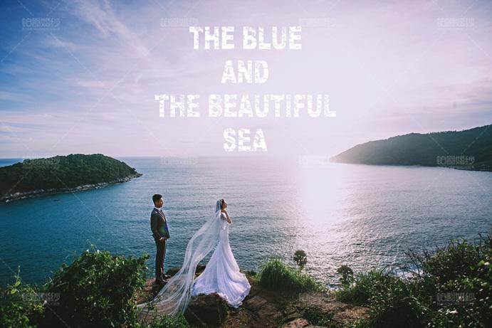 普吉岛08月客照之碧水蓝天