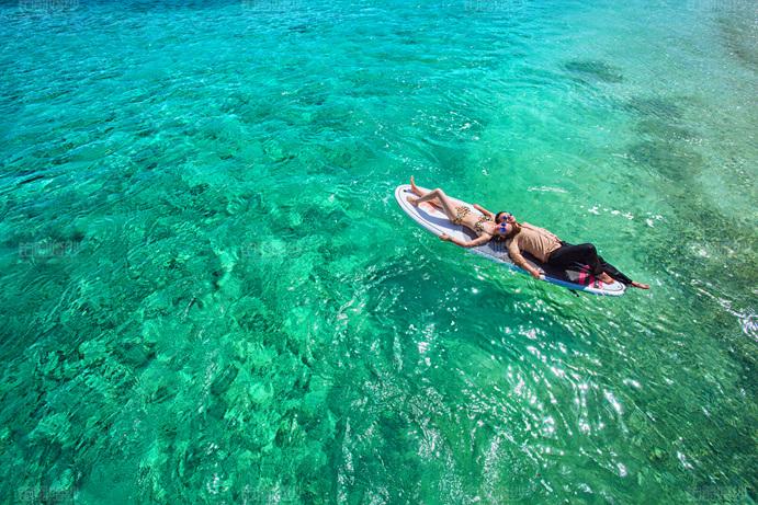 马尔代夫07月客照之享受阳光