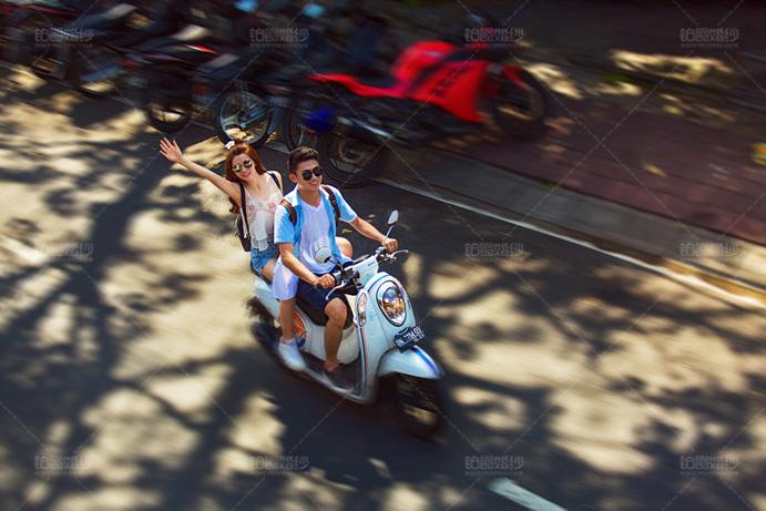 巴厘岛04月客照之骑车兜风