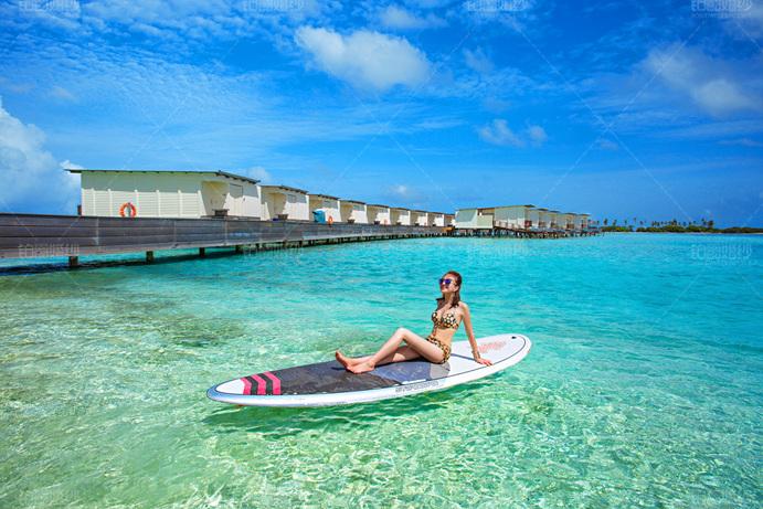 马尔代夫07月客照之惬意享受