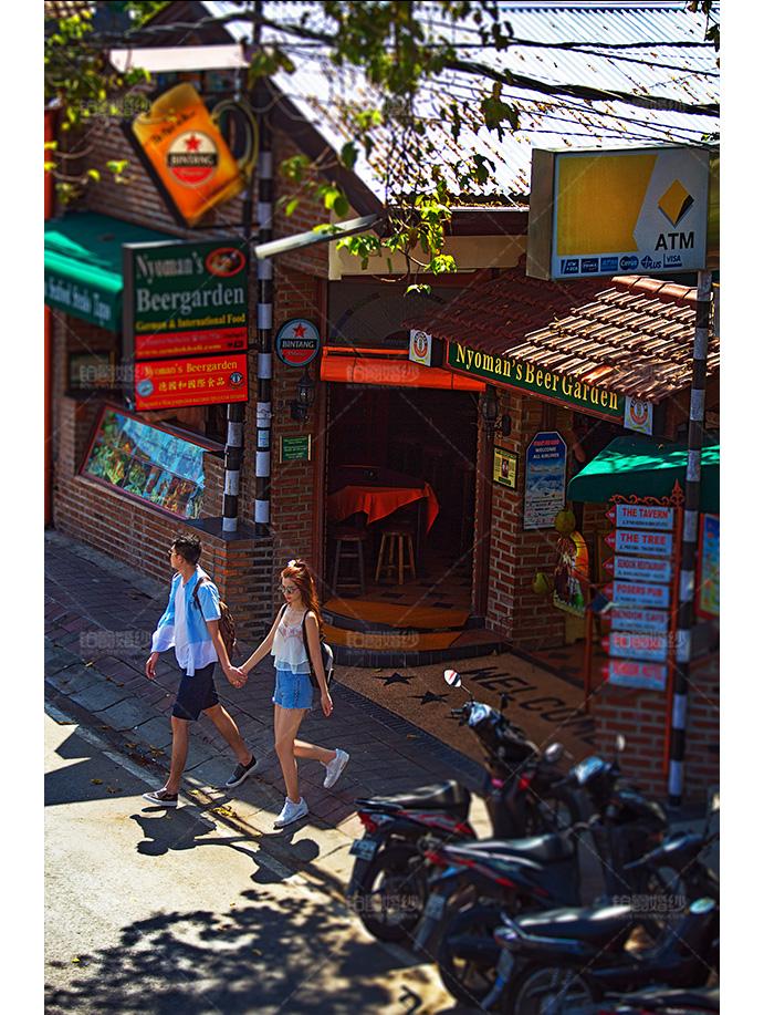 巴厘岛04月客照之一起压马路