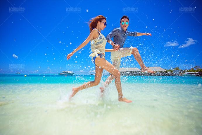 马尔代夫05月客照之幸福踏浪