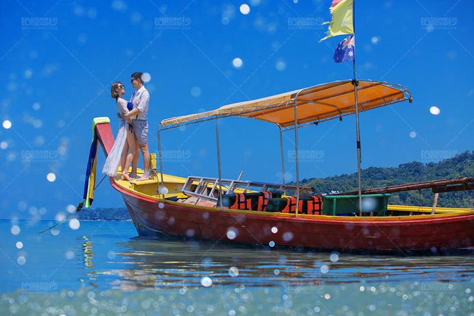 普吉岛05月客照之轻舟相拥