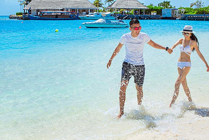 马尔代夫08月客照之一起踏浪