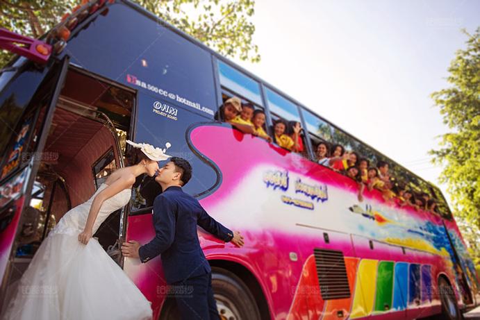普吉岛05月客照之巴士之吻
