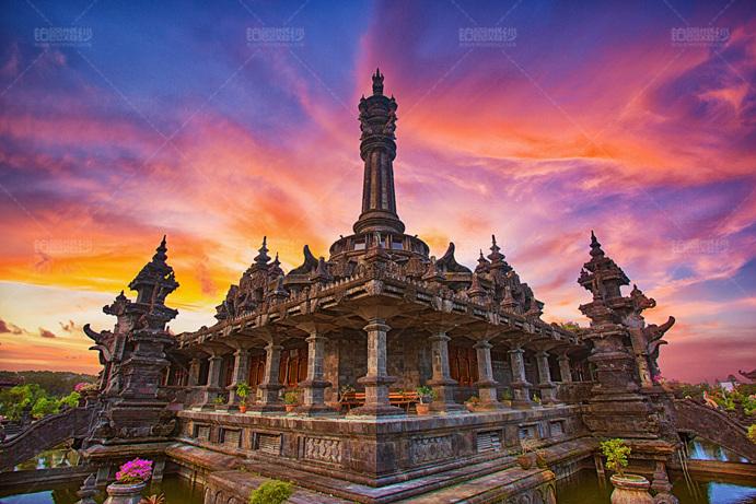 巴厘岛04月客照之神庙壮观