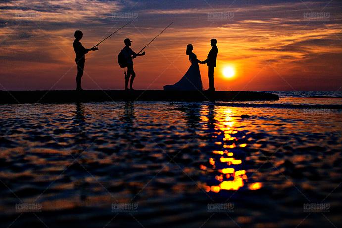 普吉岛05月客照之黄昏情侣