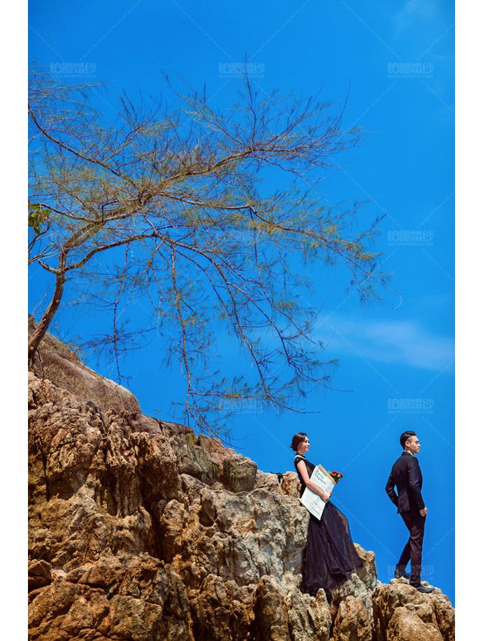 普吉岛06月客照之礁石恋人