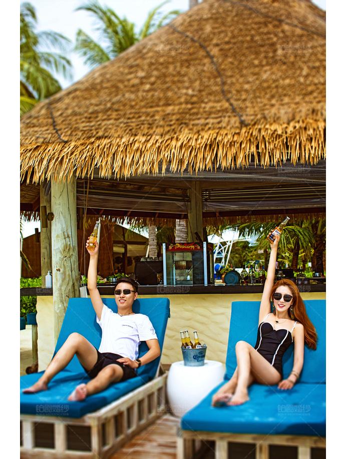 马尔代夫07月之客照享受度假