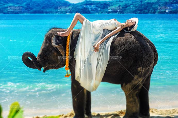 普吉岛07月客照之象背新娘
