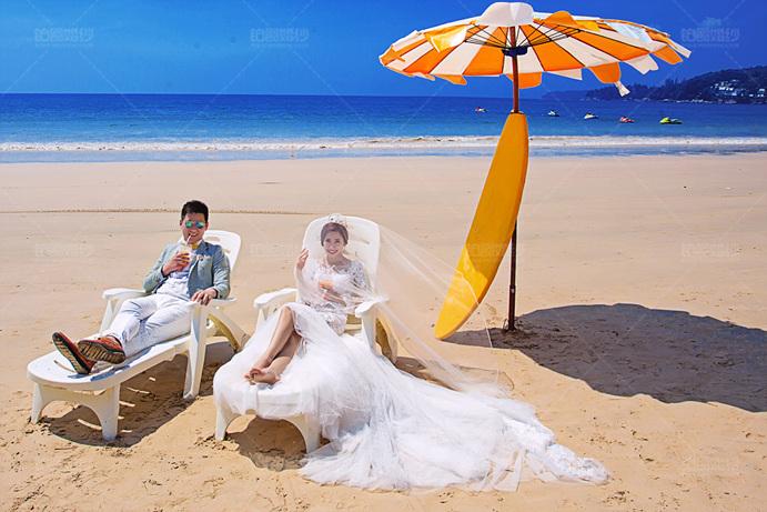 普吉岛05月客照之沙滩日光
