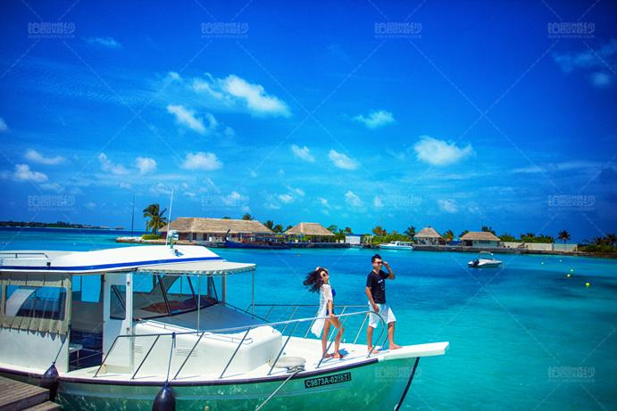 马尔代夫05月客照之欣赏大海