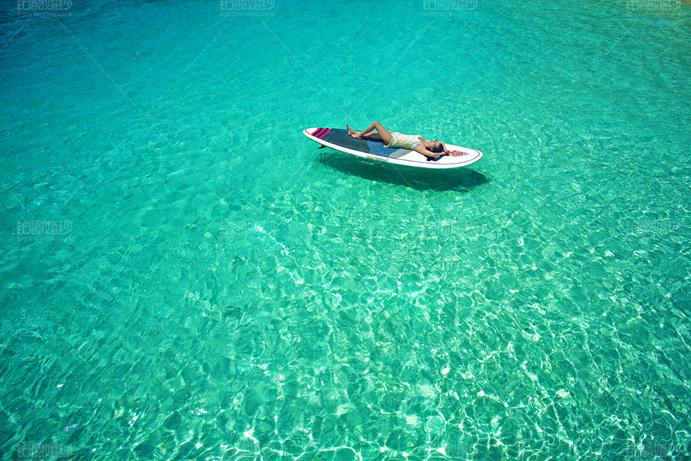 马尔代夫07月客照之孤舟美人
