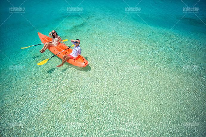 马尔代夫05月客照之小桨出海