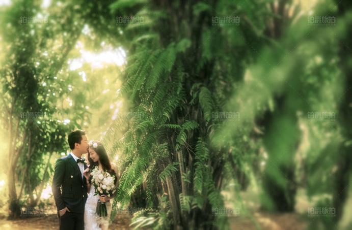 我们在三亚拍婚纱照