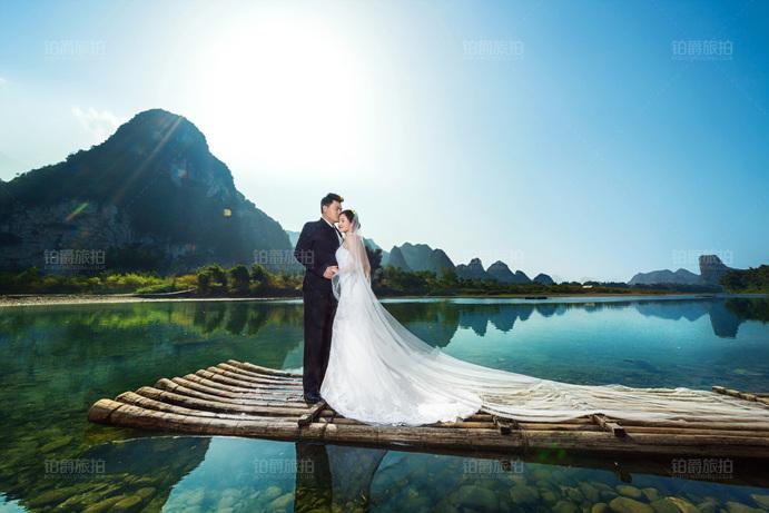 桂林拍婚纱照太美了