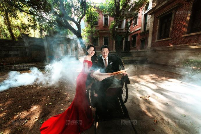 与众不同的婚纱照去哪里拍