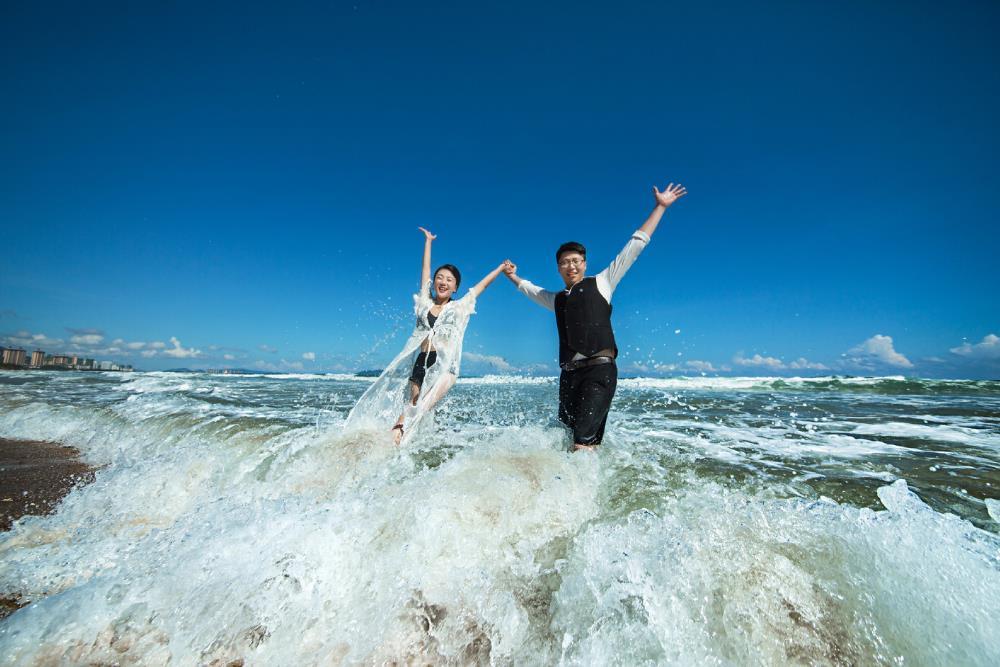 三亚海景婚纱照的拍摄效果怎么样