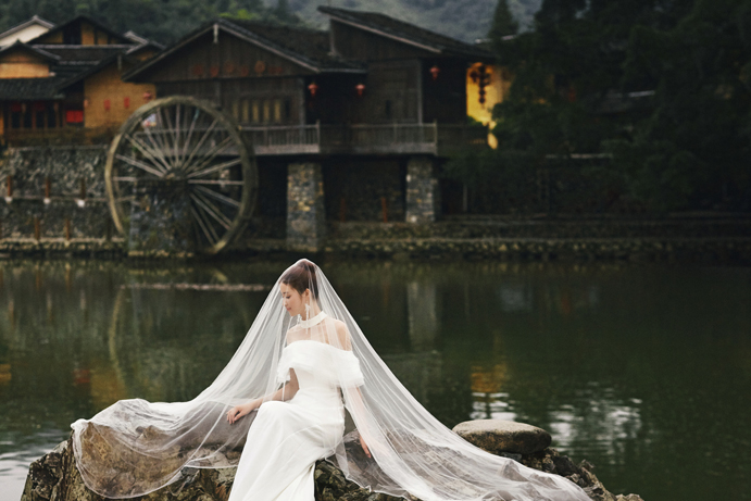 拍摄厦门婚纱照新娘怎么变得更美丽
