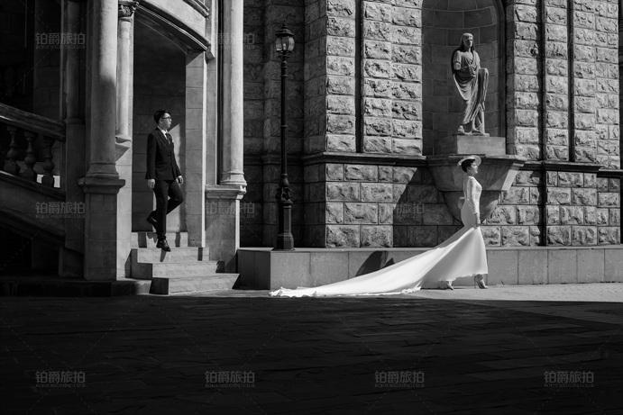 都市现代婚纱照怎么拍