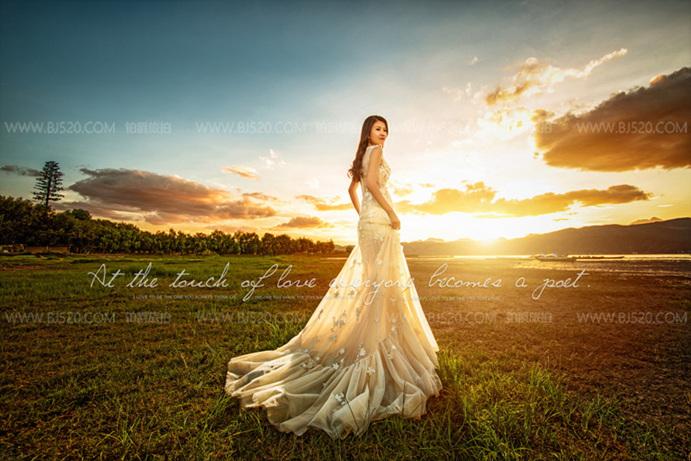 婚纱摄影:新娘头纱挑选攻略