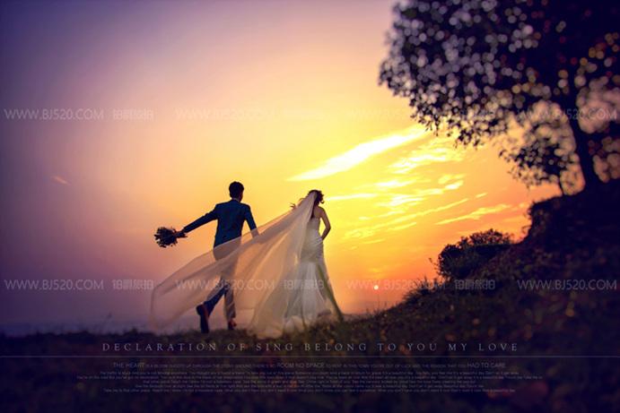 春夏季户外拍婚纱照需要注意的事项