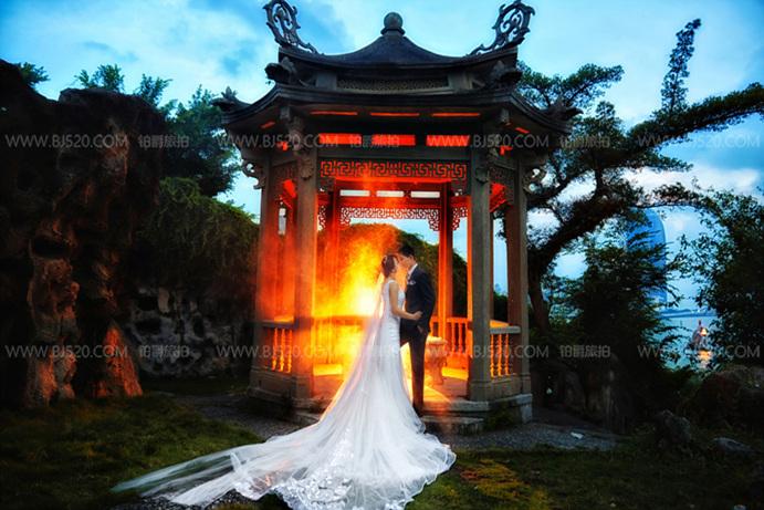 立体婚纱照制作