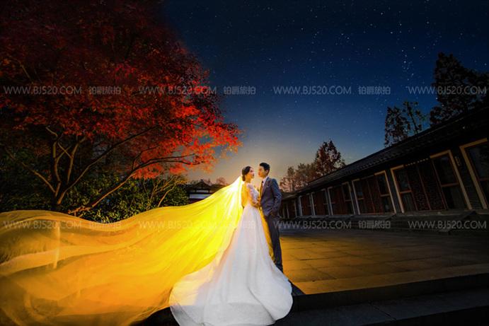 韩式婚纱照适合什么样的发型