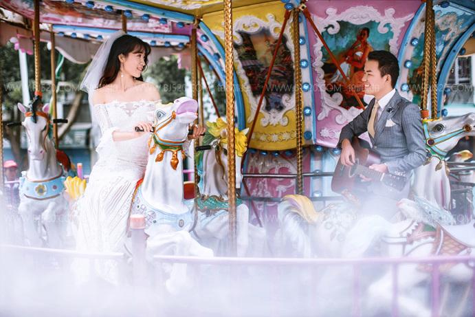 如何轻松应对婚纱照的拍摄