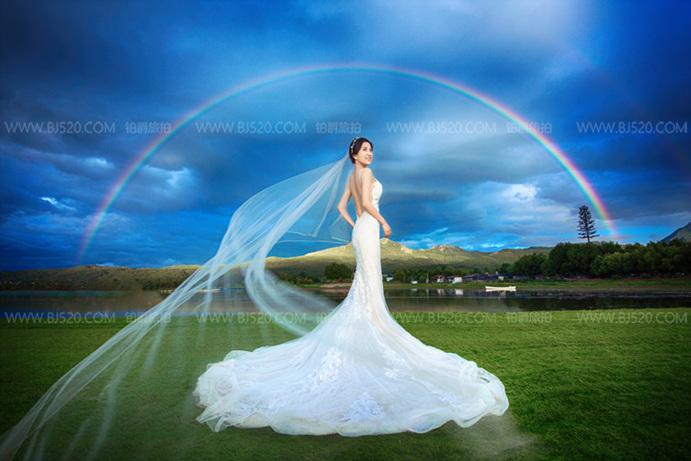 皮肤敏感新娘如何拍好厦门婚照?