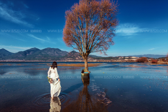 新的潮流和模式-厦门水下婚纱摄影