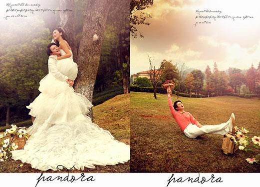 小清新婚纱照怎么拍