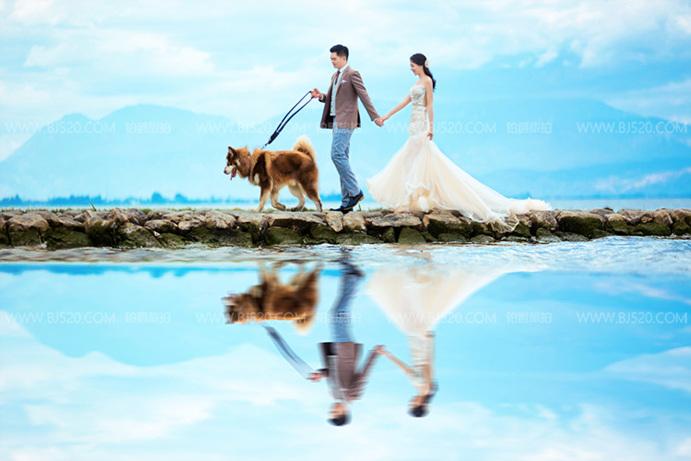 最新的香港婚纱照风格——新派婚纱照!