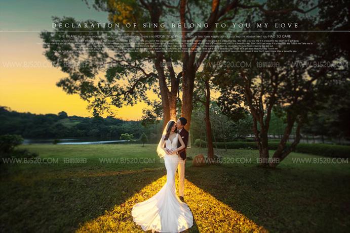 注意注意!婚纱摄影五种不易室外拍摄的情况