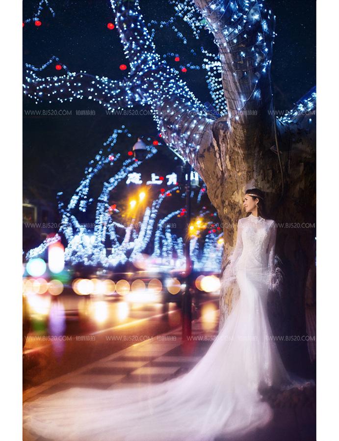 告诉你婚纱摄影如何巧用光