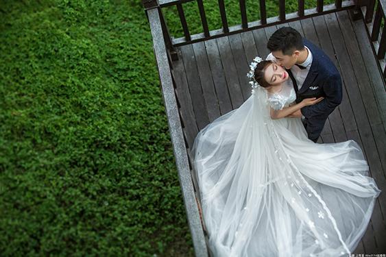 甜蜜婚纱照