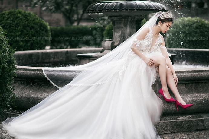 植物园拍婚纱照有什么样的效果