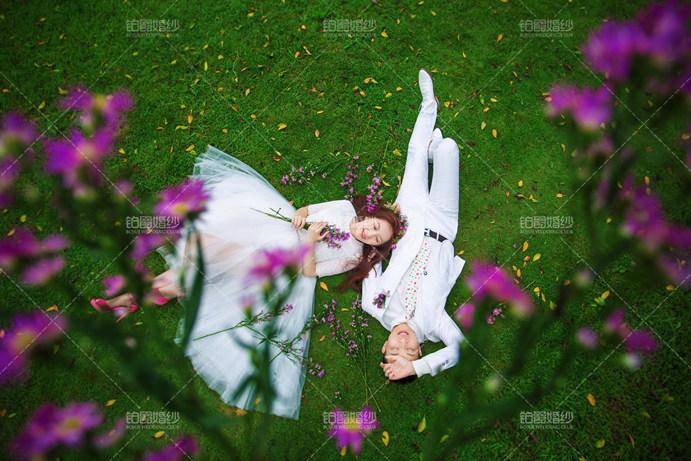 植物园适合拍哪种婚纱照