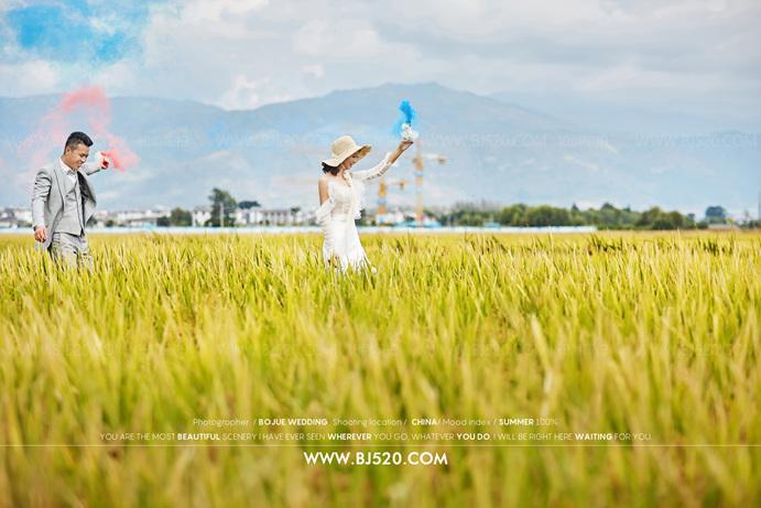 巴厘岛婚纱照攻略 几类不适合拍摄韩式婚纱照的新人