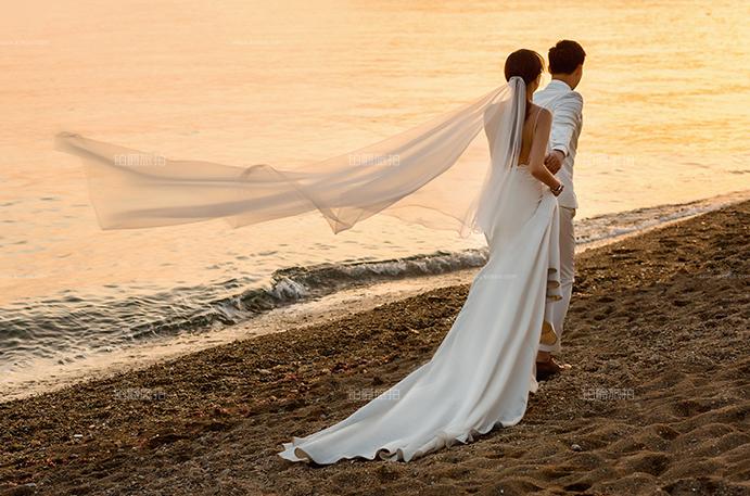 呐!完美大连蜜月旅拍婚纱照体验