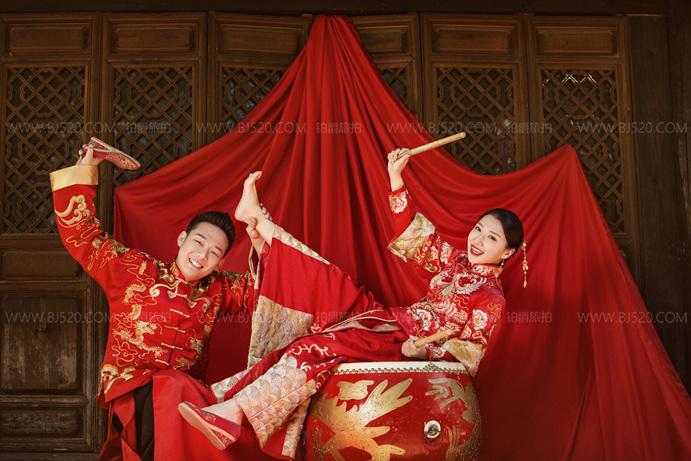 中式风格婚纱照介绍 铂爵旅拍婚纱摄影攻略