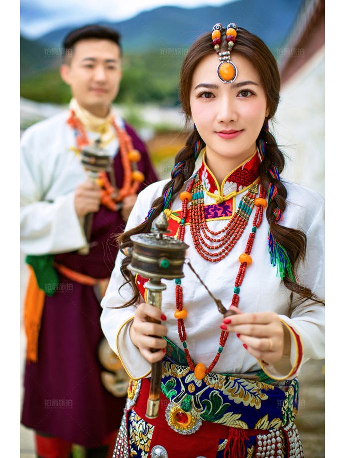 铂爵旅拍婚纱摄影 2018北京婚博会火爆全城!