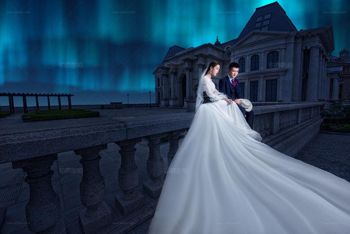 伯爵婚纱照给我们的大连蜜月之旅留下深刻的记忆