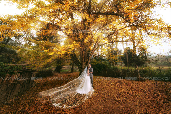 大连婚纱摄影技巧介绍 拍婚纱照姿势如何摆