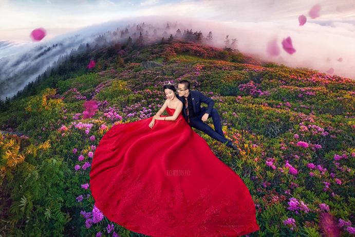青岛铂爵旅拍婚纱照是个不错的体验